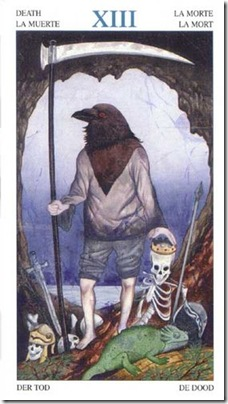 13-Major-Death Animal Lords TAROT
