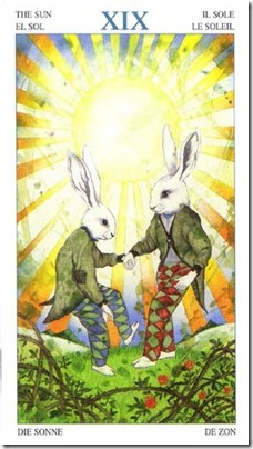 19-Major-Sun Animal Lords TAROT