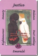 Australian Animal Tarot (8)