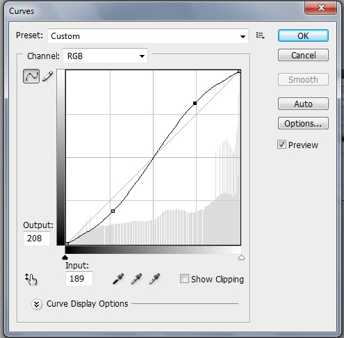 Photoshop curves