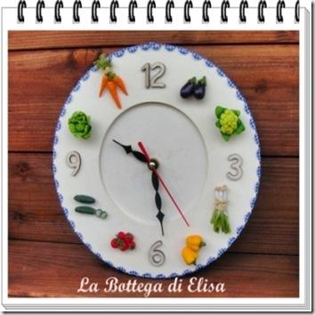 orologio verdure