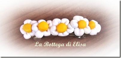 fermaglio piccolo fiorellini bianchi
