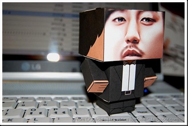 KimNamGil-FC.blogspot.com Papercraft of kim nam gil (5)