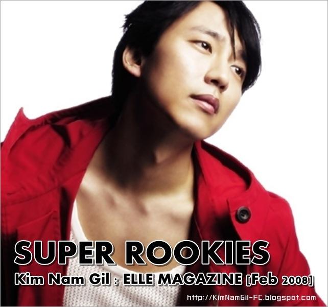 KimNamGil-FC.blogspot.com ELLE Super Rookies set