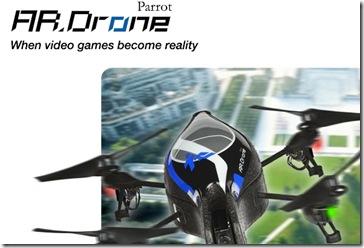 Parrot AR Drone Quadricopter 01