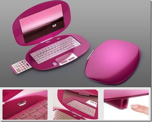 HP Pink Laptop for Ladies
