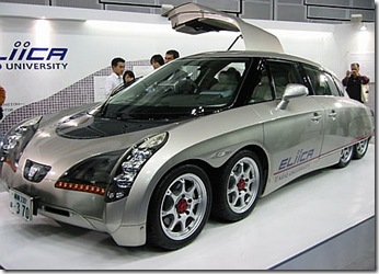 Eliica 8 Wheeled Electric Car from Japan 01