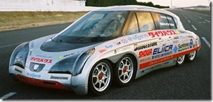 Eliica 8 Wheeled Electric Car from Japan 03