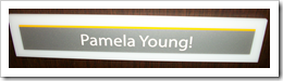 Kodak - Pamela Young - Nameplate (The Heart and Soul of Rochester)