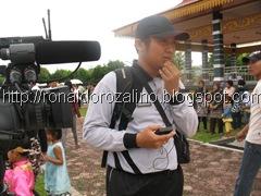 Kuansing TV Shooting Karnaval dan Drum Band Bahana di Kota Teluk Kuantan
