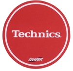 Pair Of Red Ultra-light Speed Mat Slipmats[DMCRSPEED]