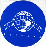 Daptone Glow In The Dark Slipmats (pair of blue slipmats with glow in the dark logo design)