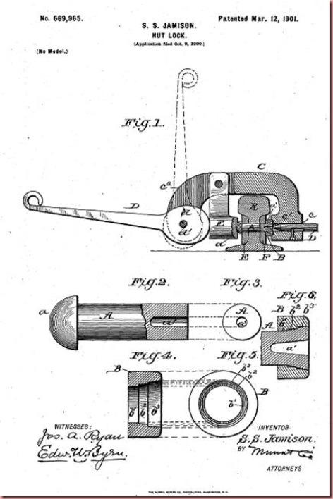 Jamison SS Nut Lock inventon