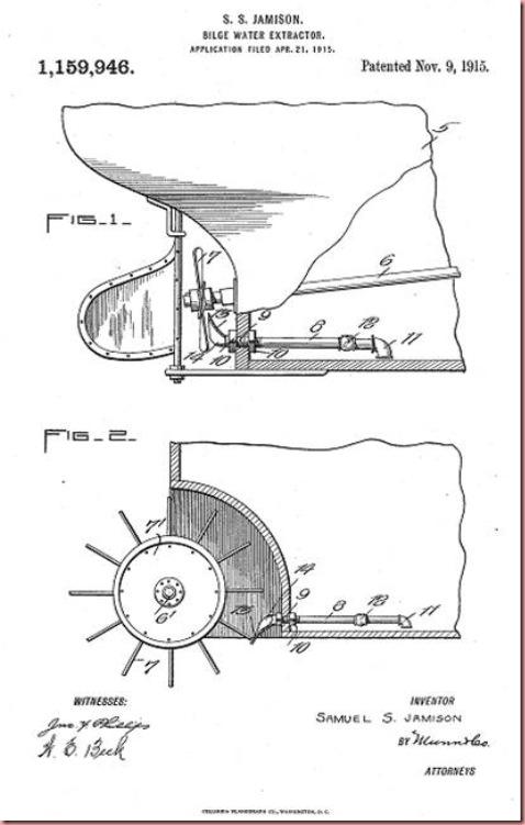 Jamison SS BilgeWater Extractor invention