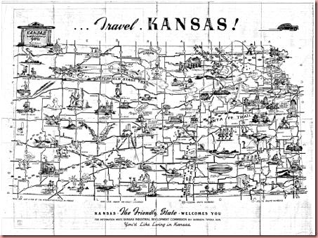 KS map 1947