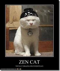 El gato Zen