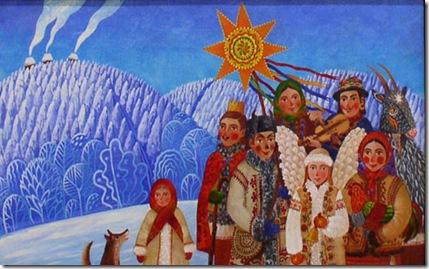 З колядою йдемо різдвяний вертеп