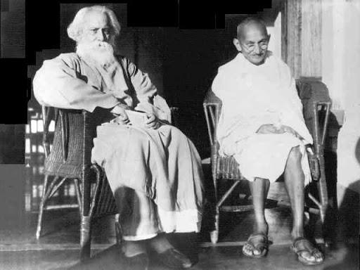 Tagore és Gandhi