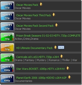 hd torrents packs