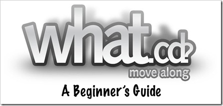 what.cd beginner's guide