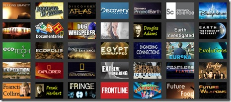 ScienceHD categories