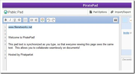 PiratePad