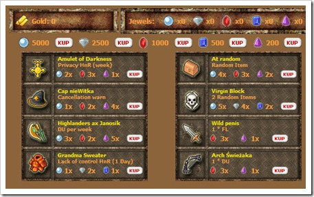 GameBurner Bonus system