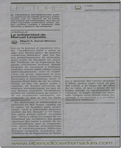 Artículo Extremadura  23-4-09