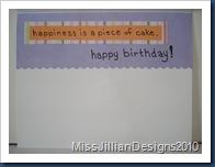 Piece of Cake - Inside