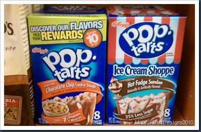 fancy flavors of pop-tarts.