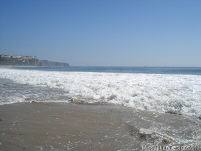 view toward the southern end of Salt Creek Beach