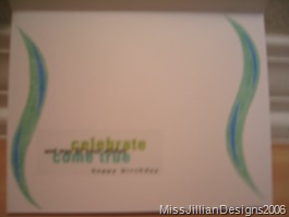 Birthday card - inside - 2006, May