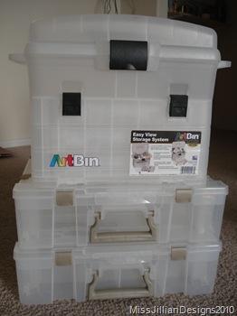 ArtBin storage systems