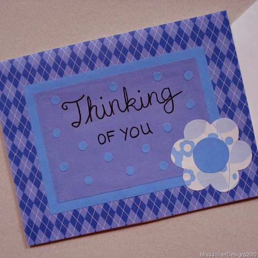 Sympathy Card - Thinking of You - Front