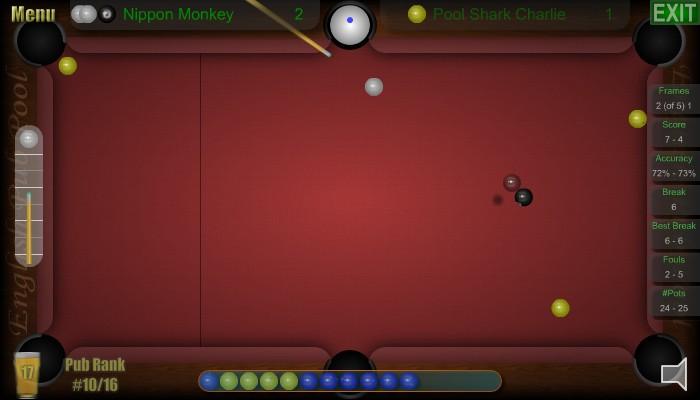 English Pub Pool - Screen Shot