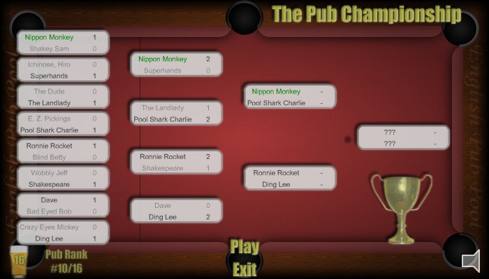 English Pub Pool - Screen Shot