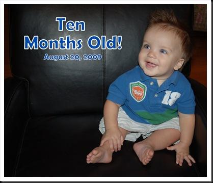 ten months old!