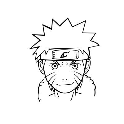 gambar sketsa jaket on Komunitas Mangaka Indonesia: Tutorial Menggambar Naruto Dengan ...