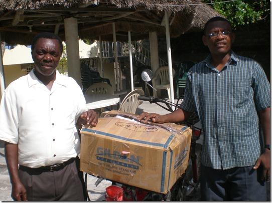 Pastor Sildreric Arisma and Pastor Jean