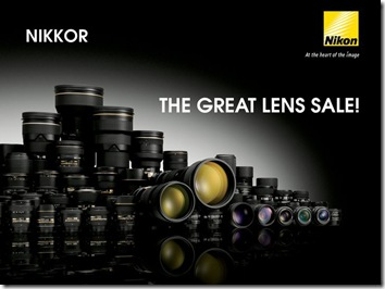 Nikon Great Lens Sale