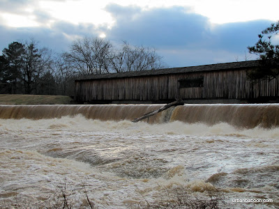 Raging Water under the Bridge