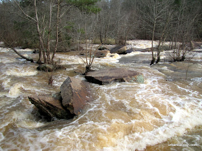 Broad River's Raging waters