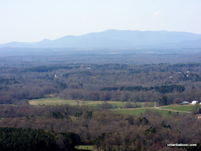 Ga. Mountains in the distance