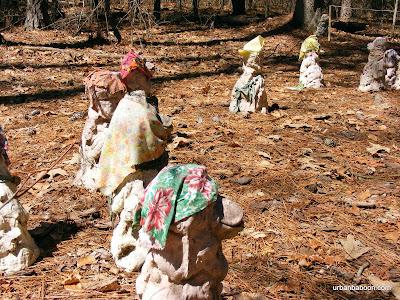 Monkey Memorial Statues