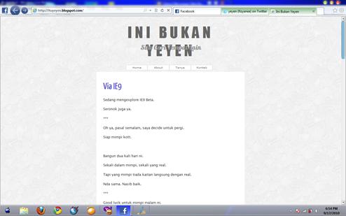 Print Screen IE9