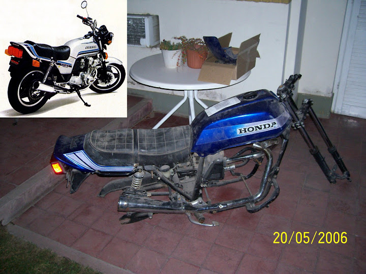 Mi moto! HONDA CB 900 mod 81