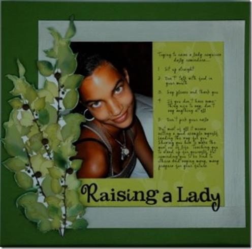 Raising a Lady