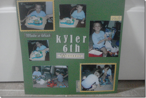 Kyler's 6th Birthday