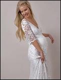 vestido de novia para embarazadas cuatro