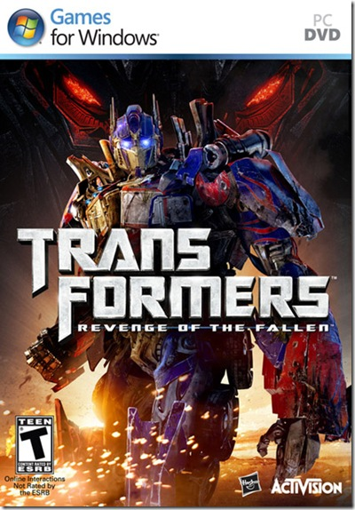 Transformers Revenge of the Fallen (PC) Full